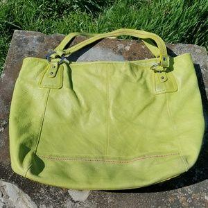 The Sak large leather Gilles Jourdan bag